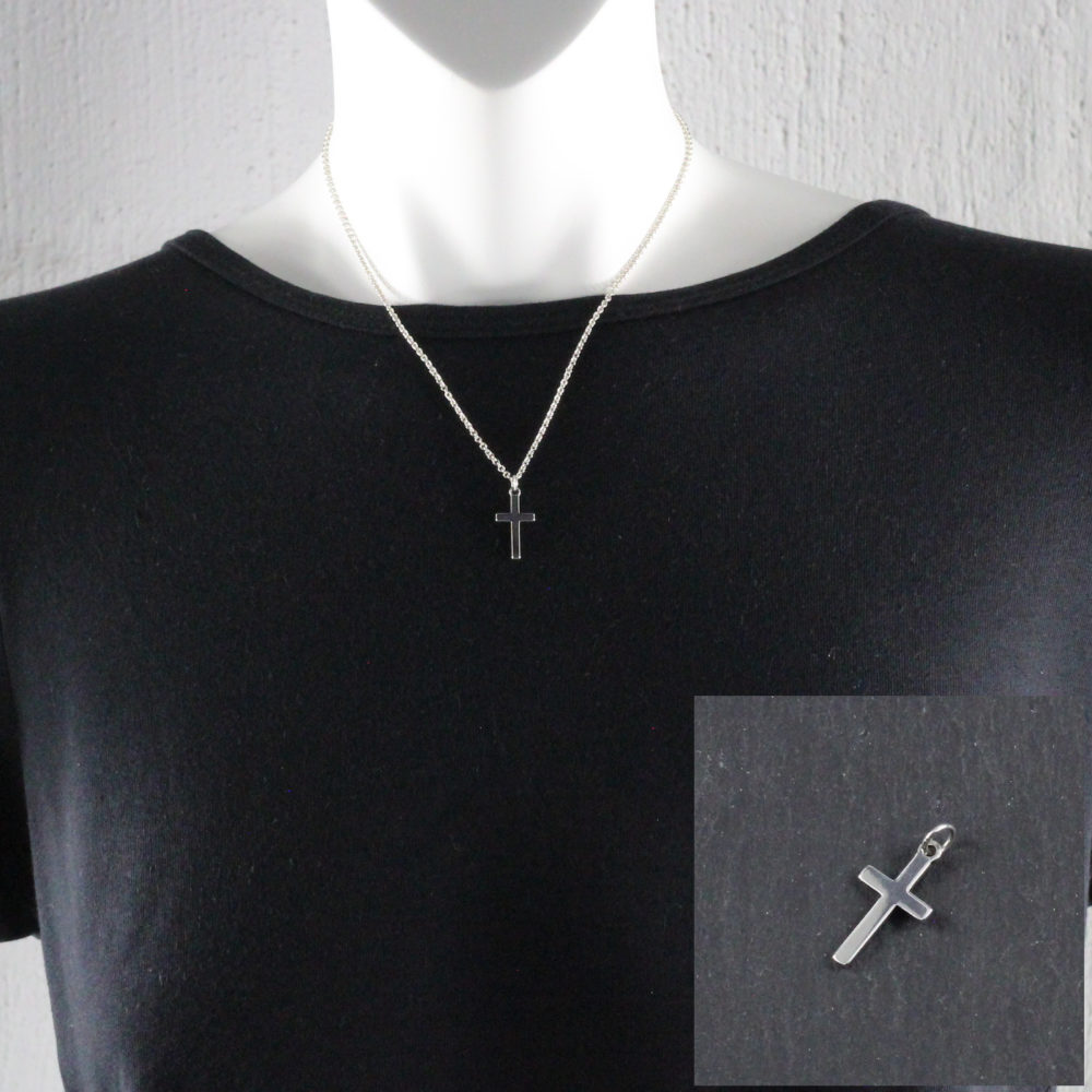 25mm cross necklace cross jewellery by trade jewellery south africa