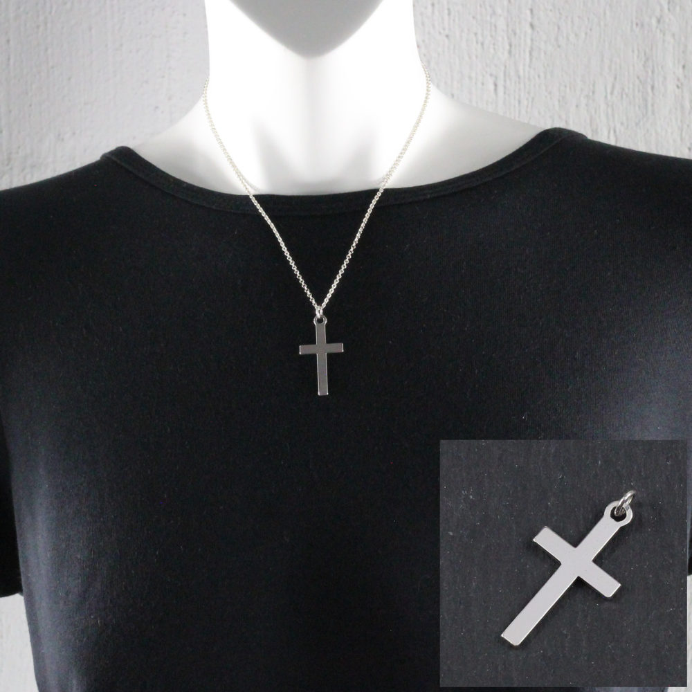 35mm cross pendant by trade jewellery south africa