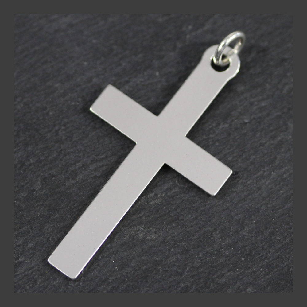55mm cross pendant by trade jewellery in south africa